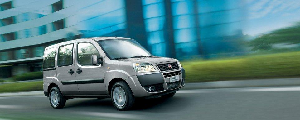 Fiat Doblo Panorama - автомобиль для бизнеса и семьи